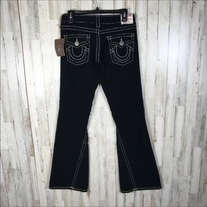 NWT True Religion Joey Big T Cords Flare Wide